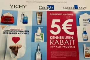 Gesundheit Hautnah, 5€ Rabattaktion im Juni